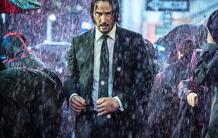 John Wick roams the streets of Manhattan a marked man