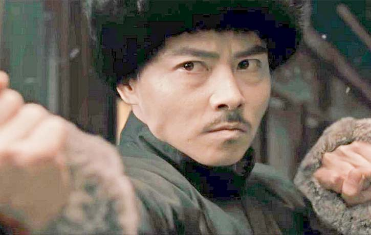 Max also appeared in another Ip Man movie -2013's The Grandmaster