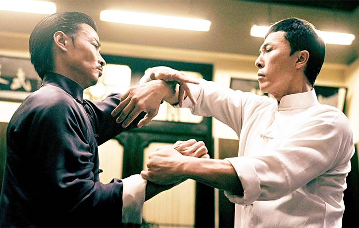 Max faces off with Donnie Yen in Ip Man 3!