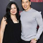 Shannon with Rich Ting, known as Bolo on Warrior