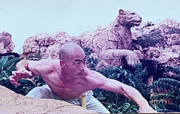 Shifu Yan Ming strikes with the Eye of the Tiger