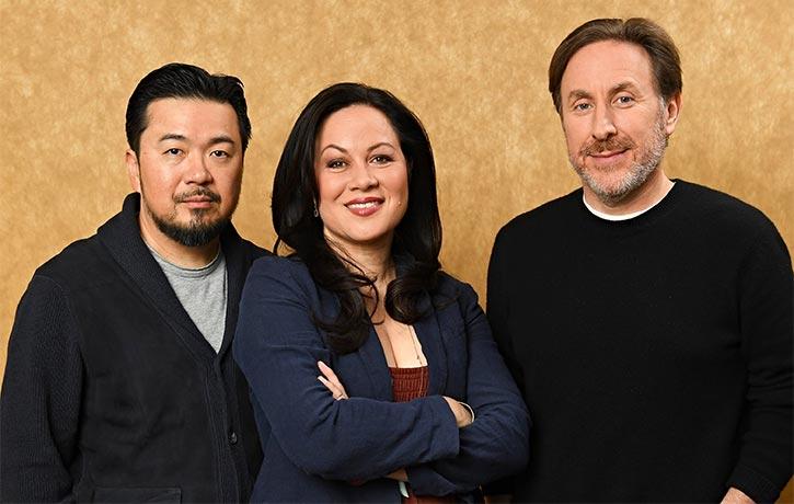 The creative team behind Cinemaxs Warrior