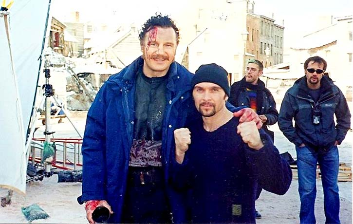 Dom with Liam Neeson