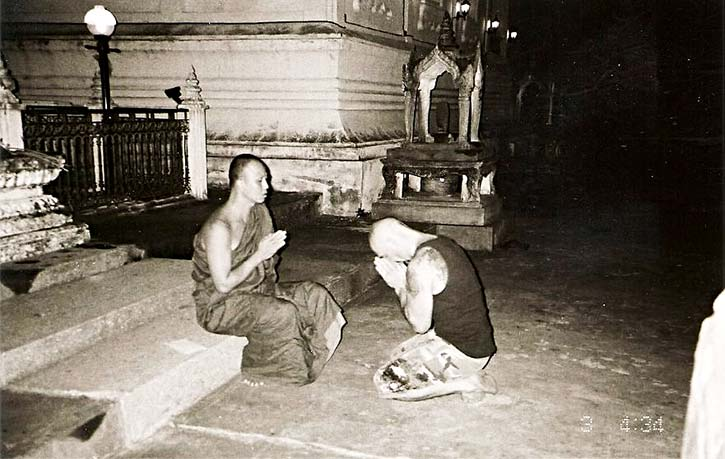 Doms time in Thailand was spiritually cleansing