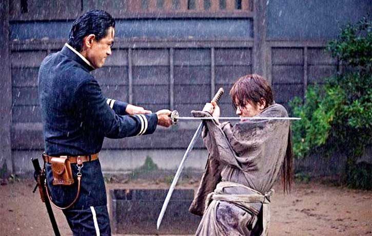 Samurai clash