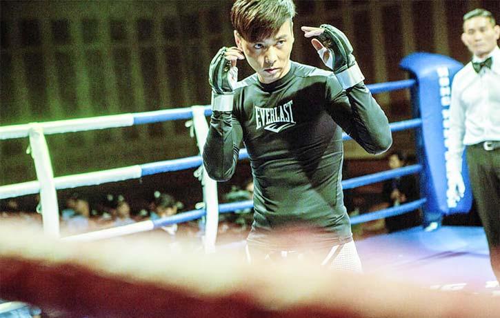 Max steps into a tense MMA fight in Invincible Dragon