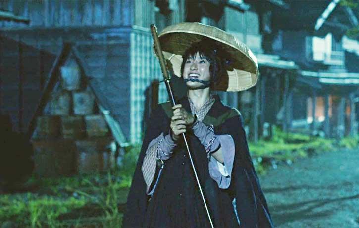 Misao steals a sword