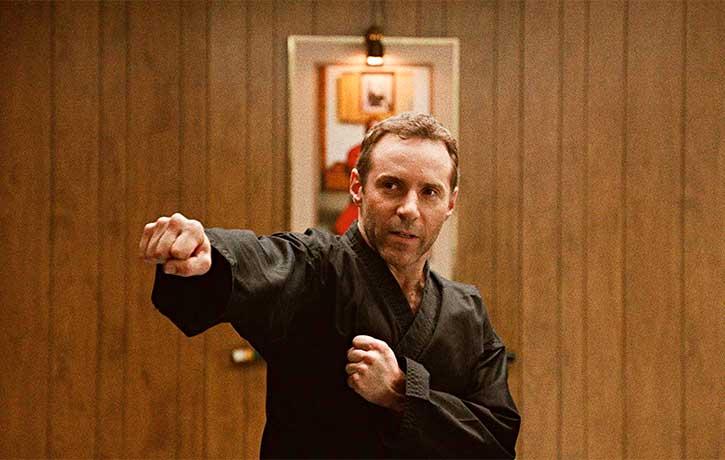 Sensei takes his newest students through the fundamentals of Karate
