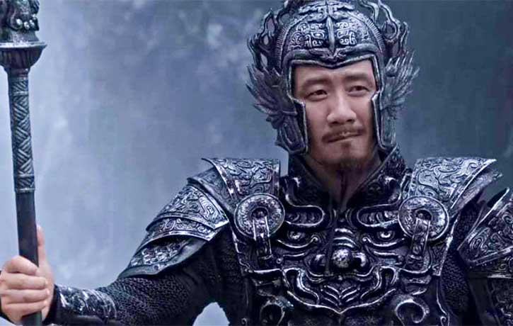 Yang Cang based on the revered historical figure General Guan Yu