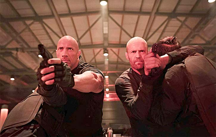Hobbs and Shaw bring the heat