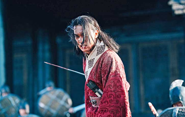 Ying Zheng has no fear of heading into battle for his Kingdom