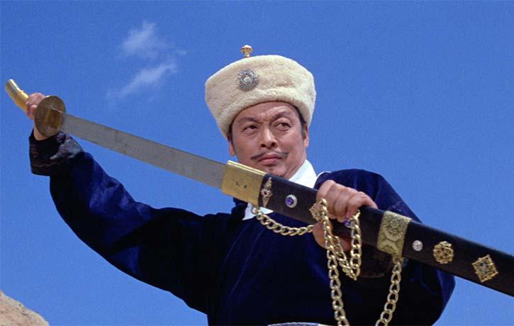 Lee Khan is a deadly swordsman