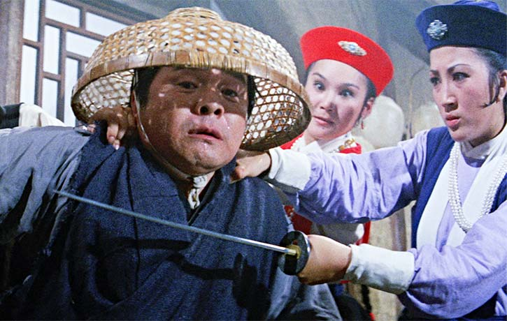 The action was directed by a then very young Sammo Hung