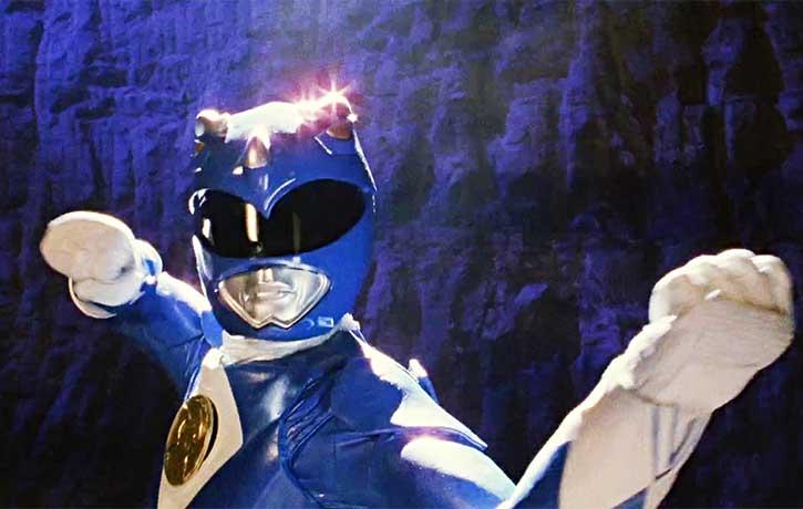Billy Cranston the Blue Ranger
