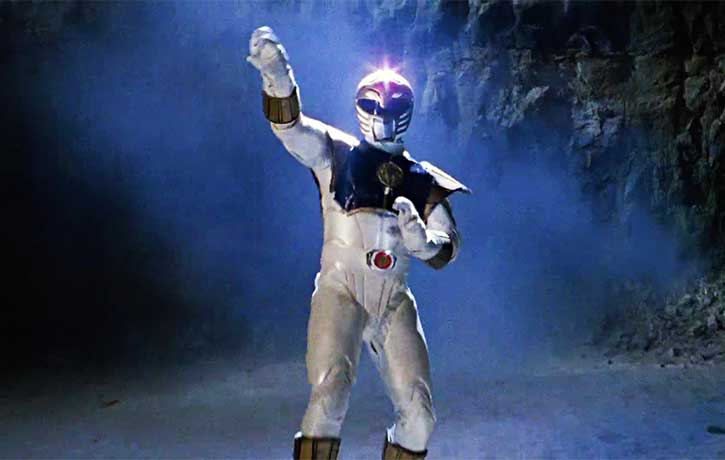 Tommy Oliver the White Ranger