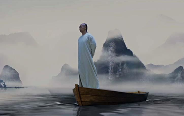 Wong Fei hung receives a vision