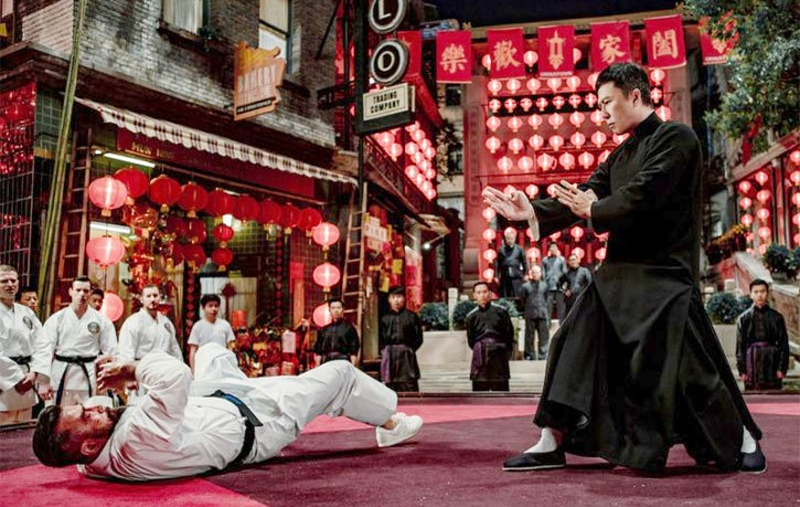Chris faces off with Donnie Yen in Ip Man 4