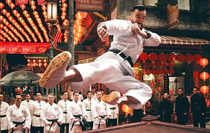 Chris flies into action in Ip Man 4 The Finale