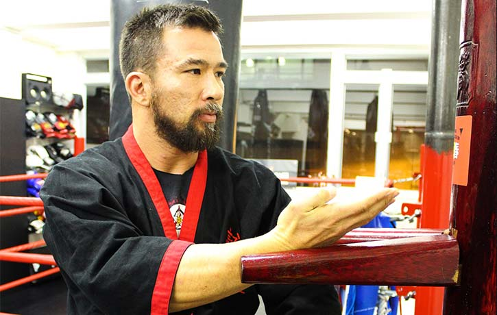 Chris is a committed Wing Chun Sifu