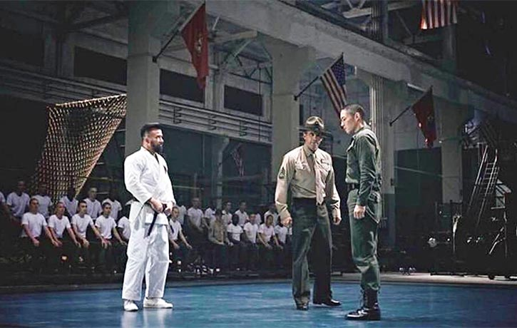 Collins and Barton Geddes hate this soldiers affection for Wing Chun
