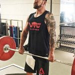 Gym training with Chris Collins