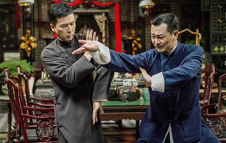 Ip Man holds his own