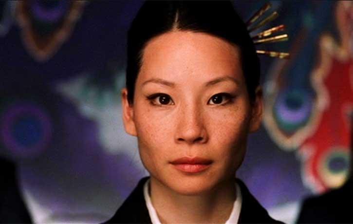 Lucy Liu stars as O Ren Ishii Codenamed Cottonmouth