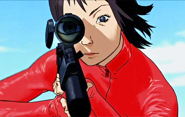 The film references many styles including Japanese animation