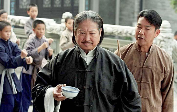 Action legend Sammo Hung as Master Chan Wah shun