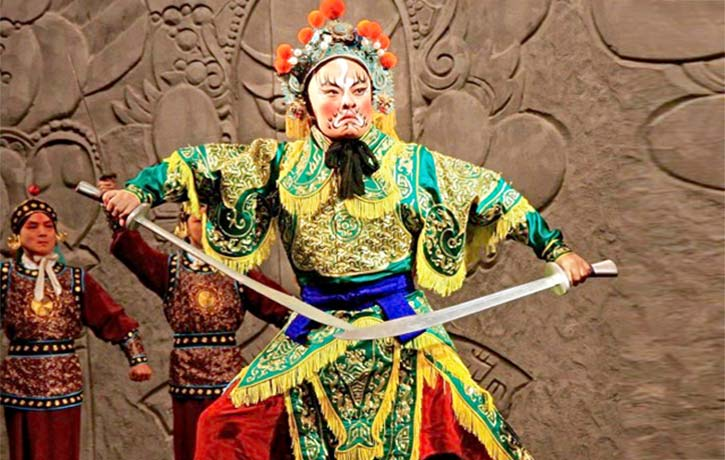 Beijing Opera brings the fight on!