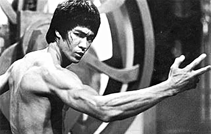 Bruce Lee's power with style