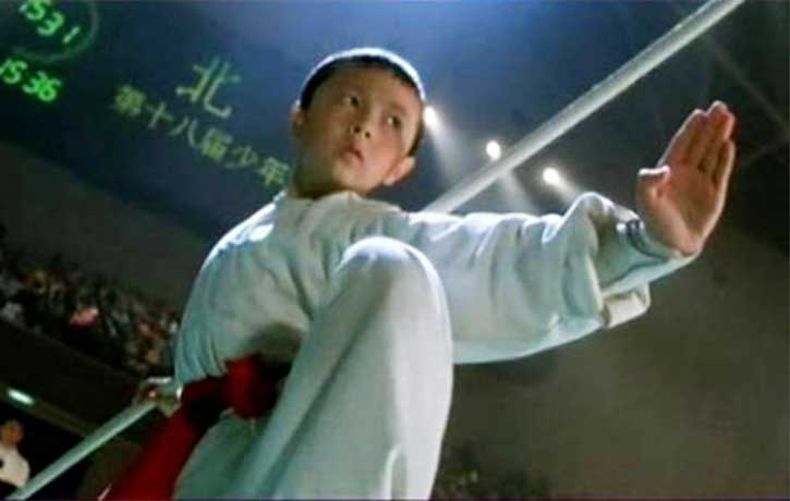Child star Xie Miao plays Johnny Kung Ku