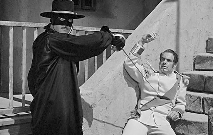 Classic action from 1920s Zorro