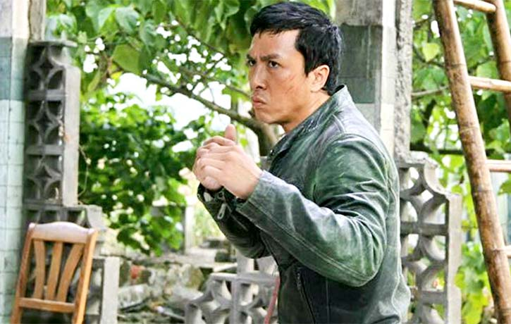 Donnie Yen trained in classical wushu