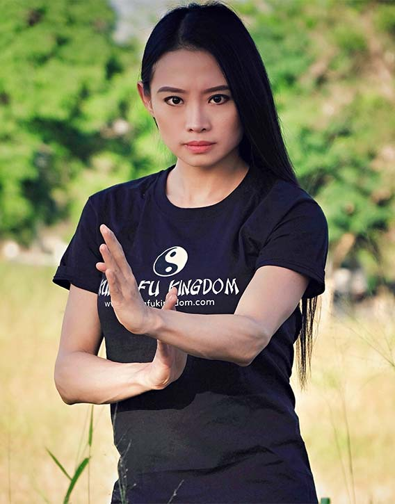 Janice Hung Queen of Wushu in the Kung Fu Kingdom