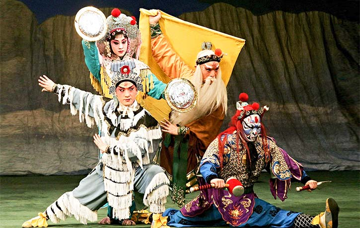 Jingxi troupe China