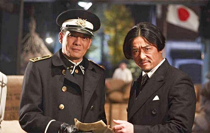 Kwok Lun Lee and Kenya Sawada as Japanese agents