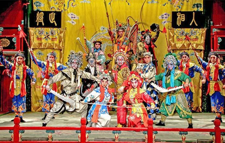 Modern Beijing Opera troupe