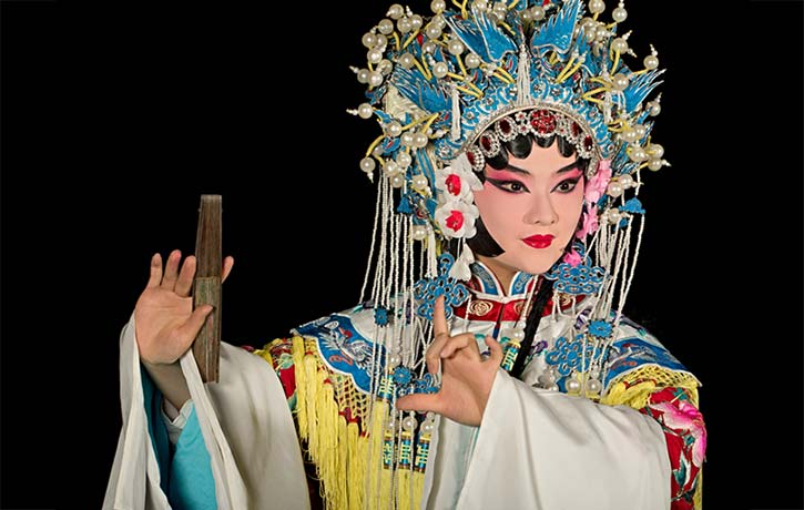 Peking Opera or Beijing Opera brought acrobatic drama to the stage