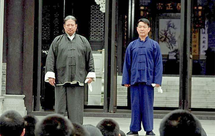 Sammo Hung and Yuen Biao reunited