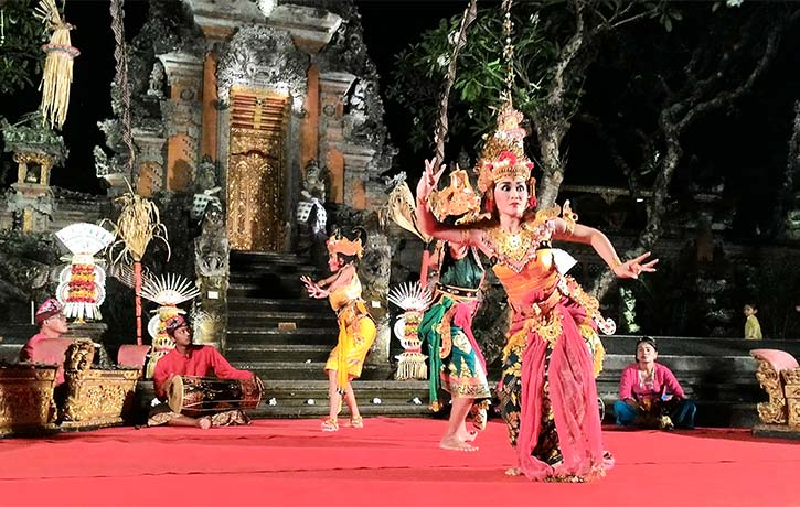 The Ramayana epic makes for popular theatre in Bali