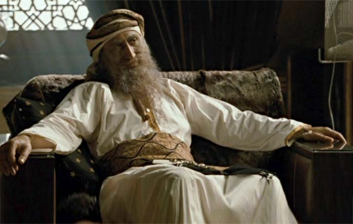 The Sheik demands vengence on SAS members who killed his sons