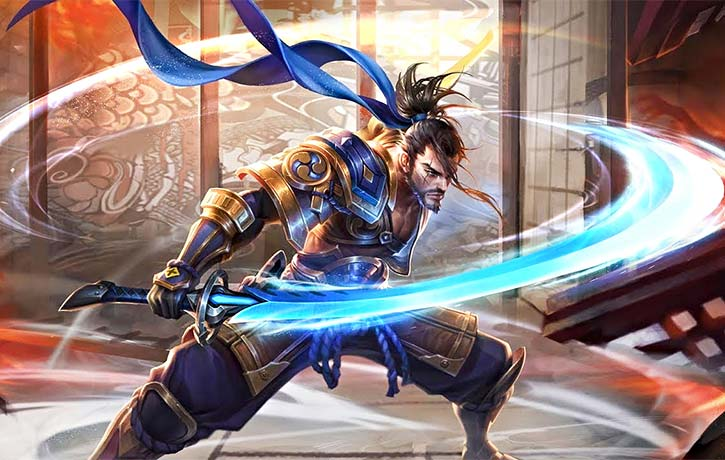 The legend Miyamoto Musashi is ever popular even featuring in modern video games