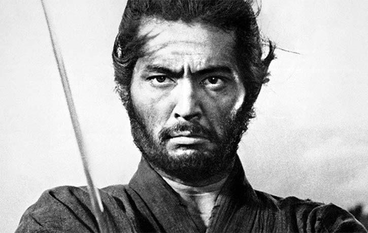 Toshiro Mifune gets visceral in Kurosawas Seven Samurai