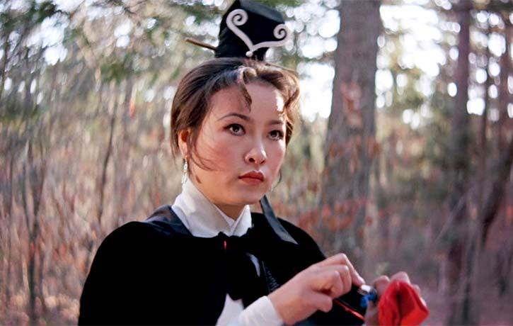 A regular in King Hu films Hsu Feng stars as the cunning thief White Fox