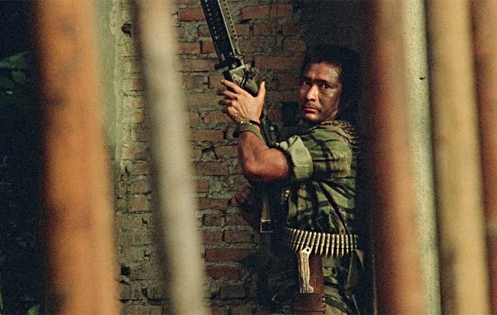 Eddy Ko Hung stars as the war veteran turned mercenary Chan Chung