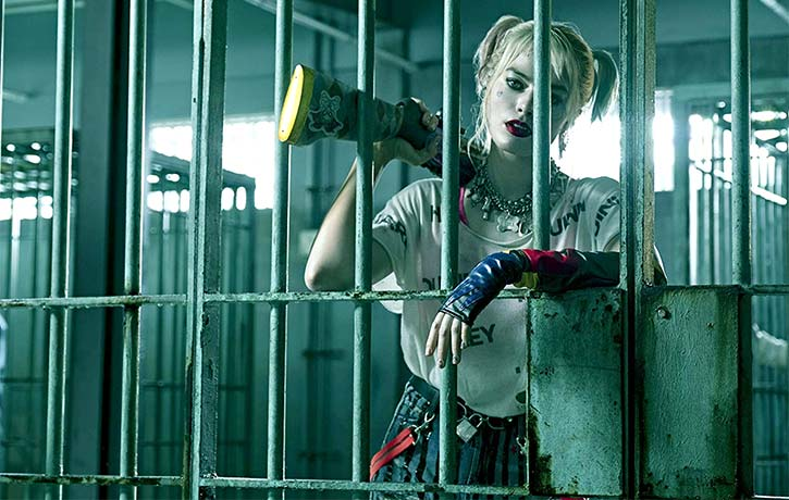Harley even in prison is a woman on a mission