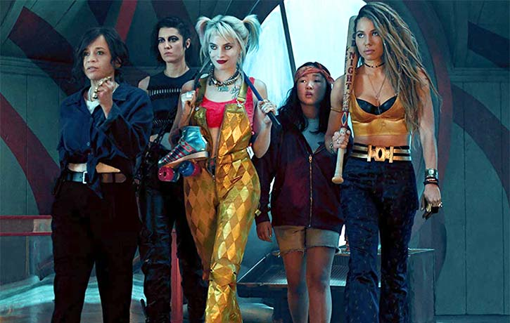 Harley joins forces with Renee Montoya Cassandra Cain Black Canary and Huntress