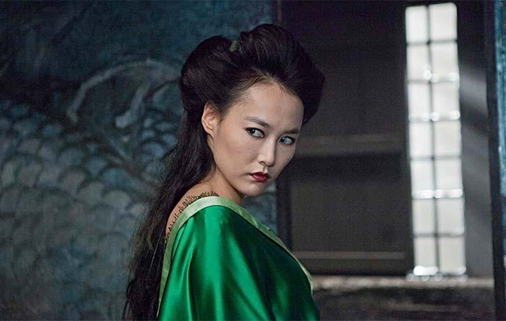 Mizuki the Witch played by Rinko Kikuchi