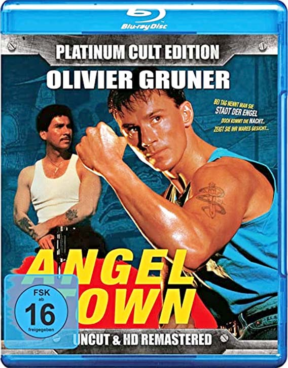 Angel Town (1990) -Blu-ray cover